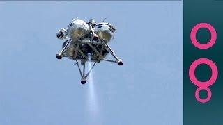 NASA's Morpheus Planetary Lander Makes Free-Flight Test