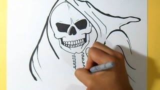 Santa Muerte Graffiti | by Dw