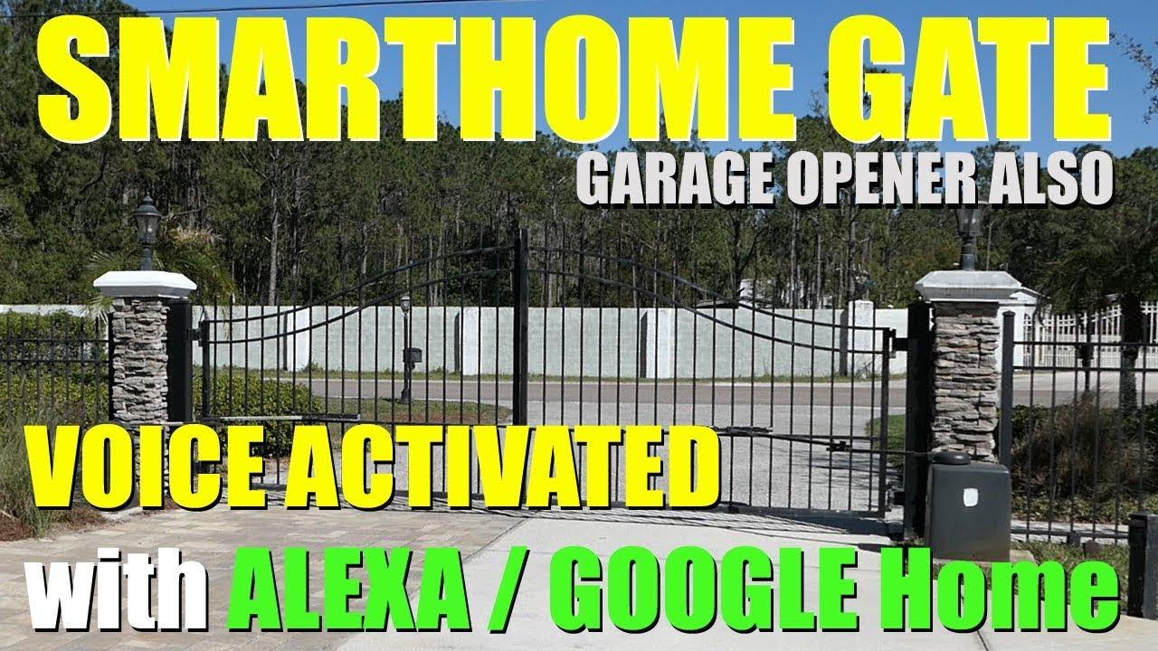 CONTROL Your GATE   GARAGE DOOR with ALEXA/Google Home