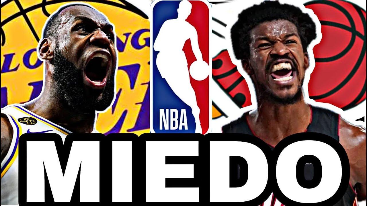 🔥MENSAJES!! 😱 LeBron JAMES y Jimmy BUTLER CALIENTAN la Final NBA!! 💥 LAKERS vs HEAT