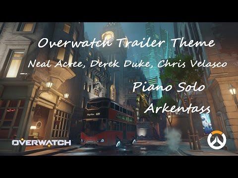 Overwatch Trailer Theme - Piano Solo