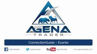 Verbinden Sie den Broker Exante in AgenaTrader (Connection Guide)