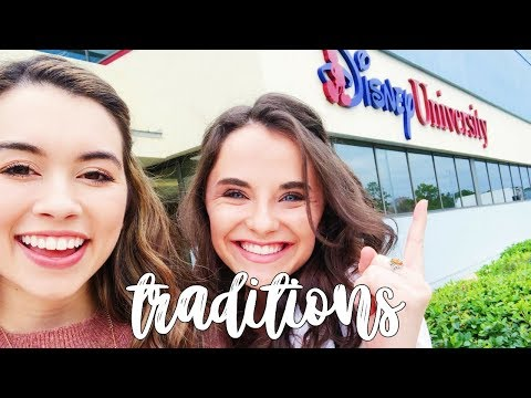 traditions (becoming a disney cast member) | dcp spring 2018