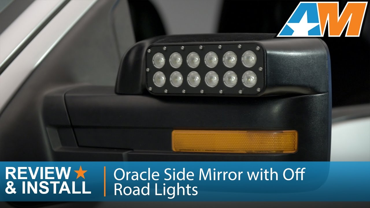 2009-2014 F-150 Oracle Side Mirror with Off Road Lights Review u0026 Install - YouTube  sc 1 st  YouTube & 2009-2014 F-150 Oracle Side Mirror with Off Road Lights Review ...