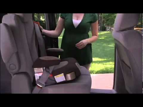 graco backless booster car seat youtube. Black Bedroom Furniture Sets. Home Design Ideas