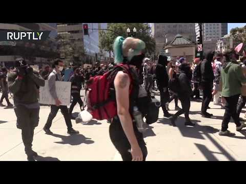 RT: 4th of July rally | Protesters take to Oakland streets to decry police brutality & racism