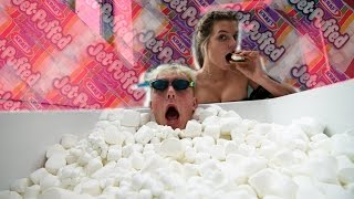 WE FILLED OUR TUB WITH MARSHMALLOWS AND WENT SWIMMING SUBSCRIBE ▻ http://bit.ly/SUB2JAKEPAUL | ☆ PREVIOUS VLOG ...