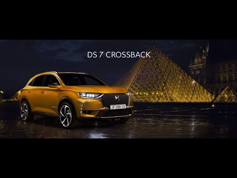 Publicité 2018 - Citroën - DS 7 Crossback - Paris