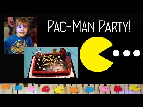 PAC-MAN PARTY😊Inexpensive & Easy Child's Birthday Party Theme 👈