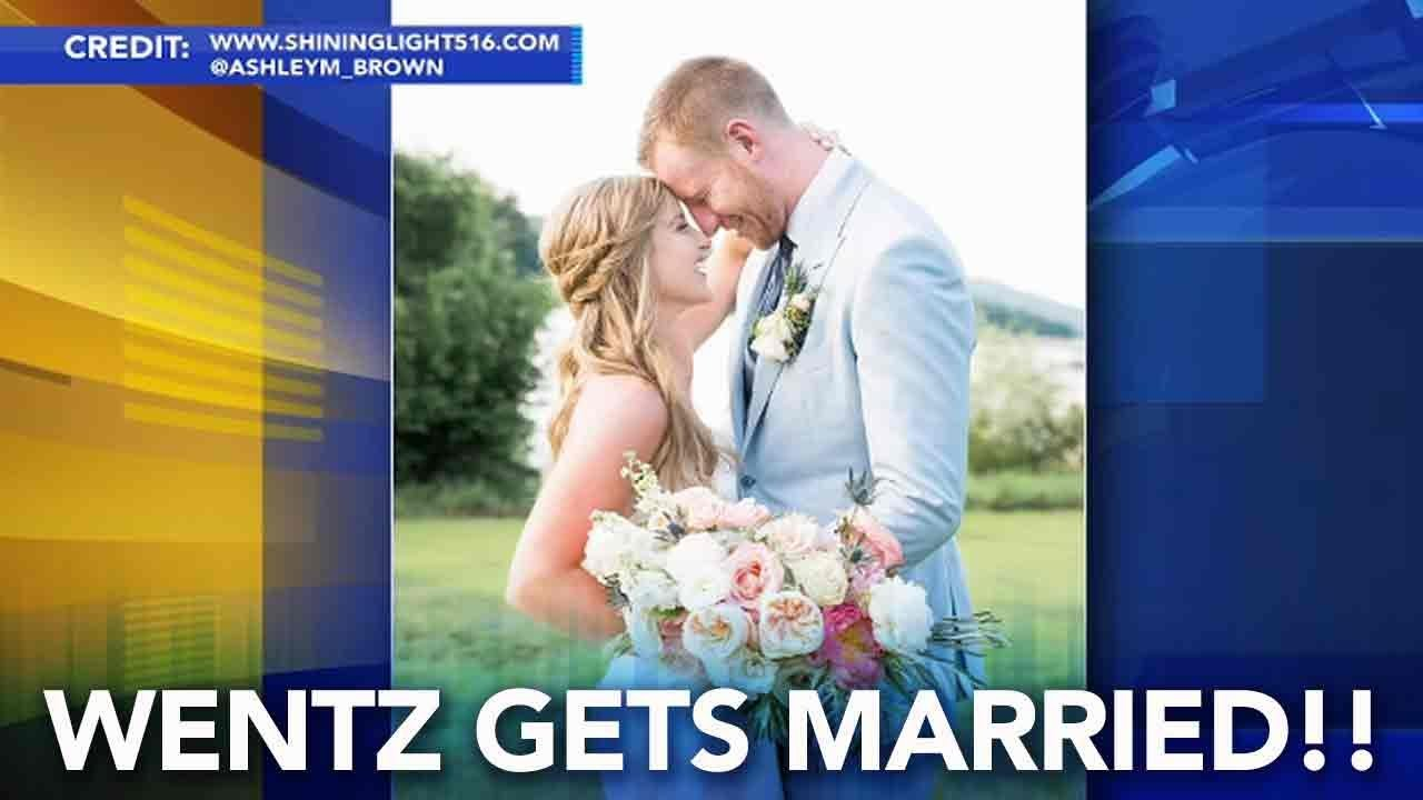 Carson Wentz Wedding.Carson Wentz Gets Married The Eagles Star Ties The Knot In Bucks County
