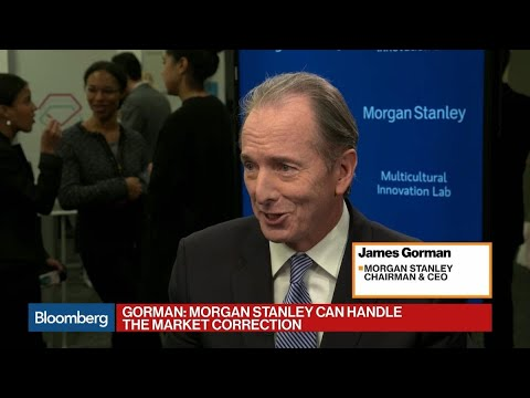 Morgan Stanley's Gorman Talks Market Selloff, Economy and GE