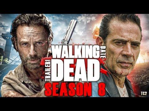 the walking dead season 8 trailer will hit july 21 2017 youtube. Black Bedroom Furniture Sets. Home Design Ideas