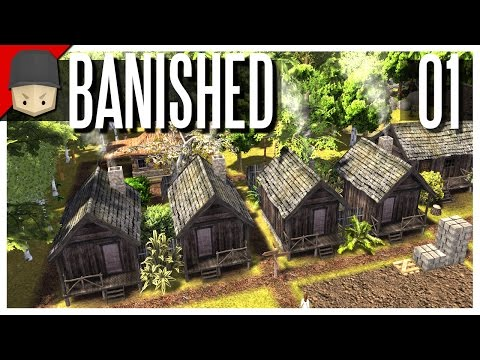 Banished - S2 Ep.01 : A Whole New World! (Modded Banished)