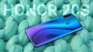 ОБЗОР Honor 20S или возвращение Huawei P30 Lite / ПОСЛЕДНИЙ смартфон на Kirin 710?