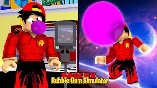 ROBLOX - FLOATING INTO SPACE AVEC MY BUBBLE GUM!!