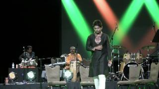 "Shovan singing ""abhimane chole jeo na"" at NABC 2014"