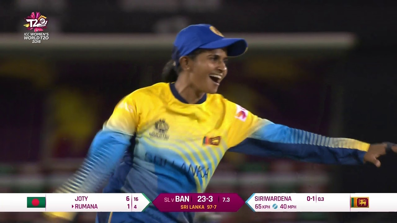 Sri Lanka v Bangladesh - Women's World T20 2018 highlights