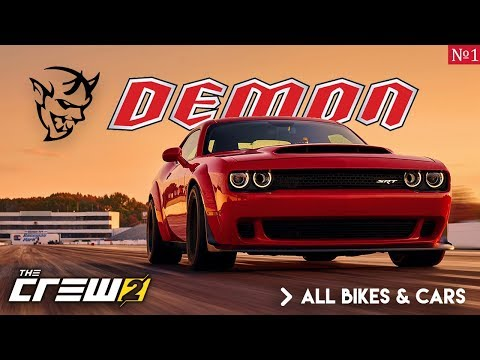 THE CREW 2 ALL EXPECTED VEHICLES (40+ CARS & BIKES)