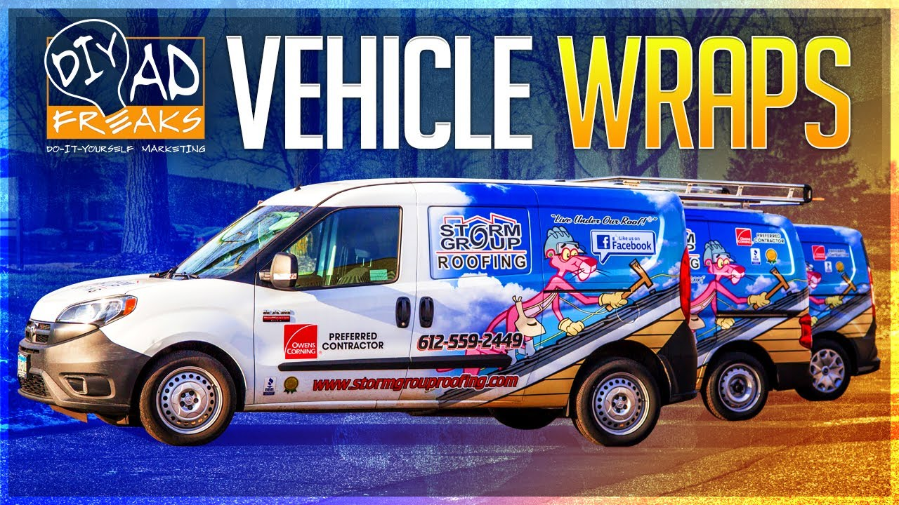 Roofing Business and Vehicle Wraps