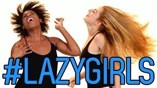 Repeat youtube video 6 Amazingly Simple Hairstyles For Lazy Girls