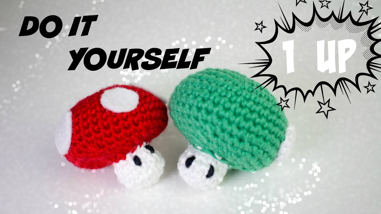 1 up pilz amigurumi h kelanleitung f r anf nger do it yourself youtube. Black Bedroom Furniture Sets. Home Design Ideas