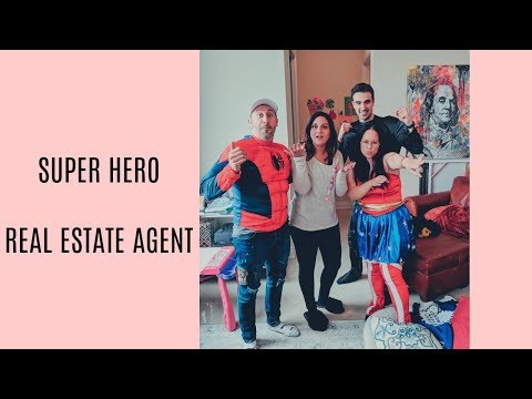 Superhero Real Estate Agent | Funny Real Estate Girl Boss