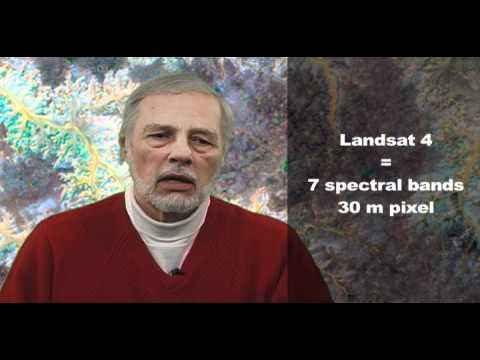 Remote Sensing: Using Landsat Satellite Data for Geological
