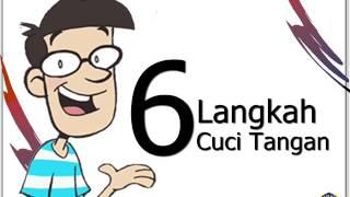 6 Langkah Mencuci Tangan