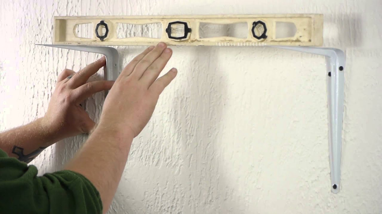 Securing A Bookshelf To Plaster Walls