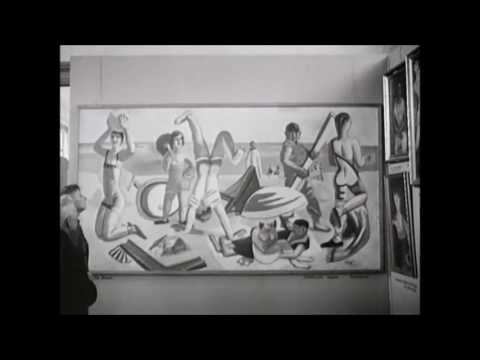 Degenerate Art, Munich, 1937