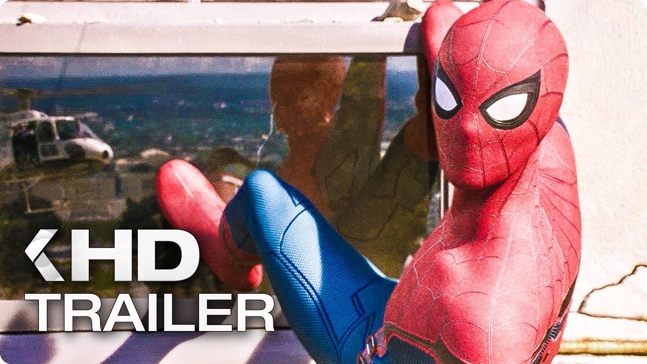 "SPIDER-MAN: Homecoming ""Washington Monument"" Clip & Trailer (2017)"