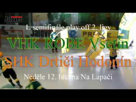1. semifinále play off Vsetín - Hodonín