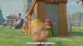 Comercial Clash Of Clans [Corredores] Legendado PT-BR 1080p 60fps