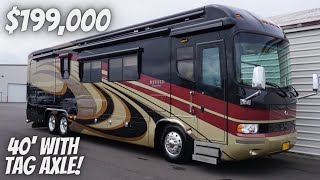 COMPLETE TOUR OF 2009 MONACO EXECUTIVE WITH CUMMINS 650 FOR SALE FOR $199,000