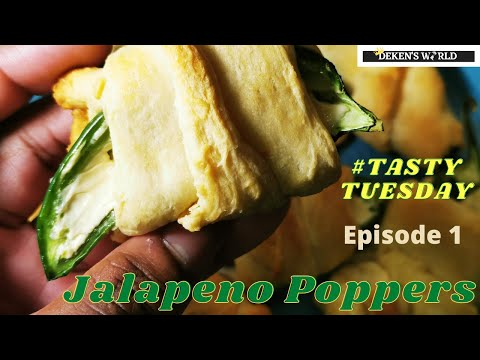 #TastyTuesday Episode 1: Jalapeno Poppers