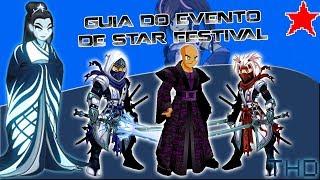 aqwguia das quests e drops do evento de star festival 2018