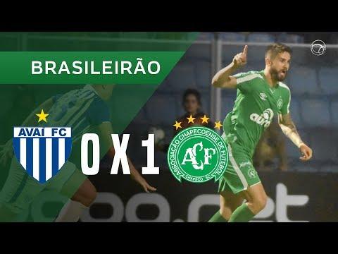 AVAÍ 0 X 1 CHAPECOENSE - GOL - 24/11 - BRASILEIRÃO 2019