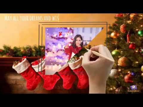 Christmas Greetings video for whatsapp, facebook and twitter
