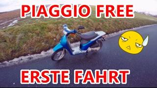 PIAGGIO FREE | ER LÄUFT | TESTFAHRT