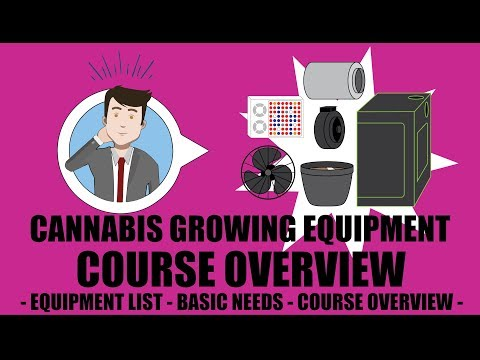 Weed Grow Operation Set Up - Overview