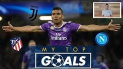 Casemiro picks his three favourite Real Madrid goals!