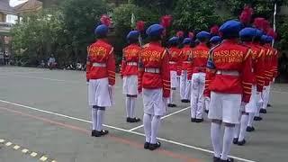 Gerakan PBB Variasi Terbaik SMK N 1 Batang Juara Umum 1