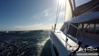 Stage formation ACM sur catamaran Nautitech Open 40 - Etape 4 - Barcelona - Hyères