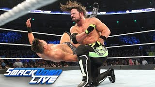 AJ Styles vs. The Miz: SmackDown LIVE, Dec. 4, 2018