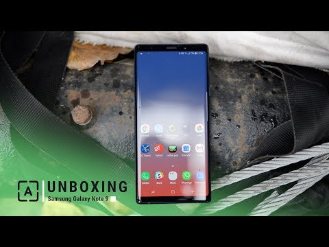 Samsung Galaxy Note 9 | UNBOXING