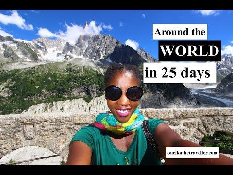 Around the world in 25 days! Epic RTW trip with Star Alliance & Marriott Intl