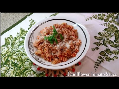 Cauliflower Tomato Sauce