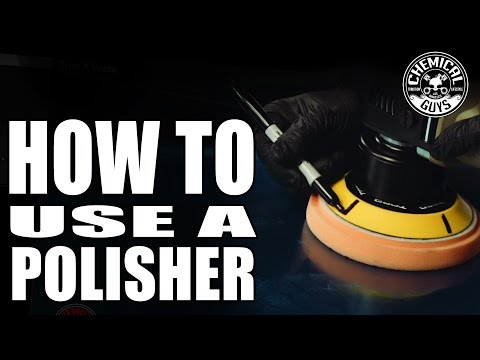 How To Use A Polisher - Car Detailing Basics - Chemical Guys - TORQX Dual Action Polisher