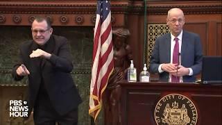 Watch: Philadelphia Mayor Jim Kenney Gives Coronavirus Update -- March 27, 2020