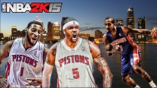 NBA 2K15 My League Mode Ep.1 - Detroit Pistons | Looking Back to Move Forward | Xbox One
